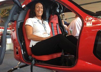 Verena Dolderer freut sich auf die erste Runde im CoAX in EDMT