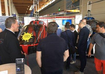 Das Interesse am CoAX 2D und unserer Flugschule flyhelicopter ist gewaltig